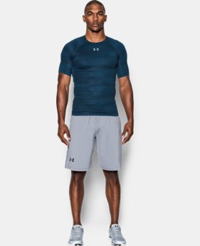 Men's UA HeatGear® Armour Printed Short Sleeve Compression Shirt LIMITED TIME: FREE SHIPPING 1 Color $34.99