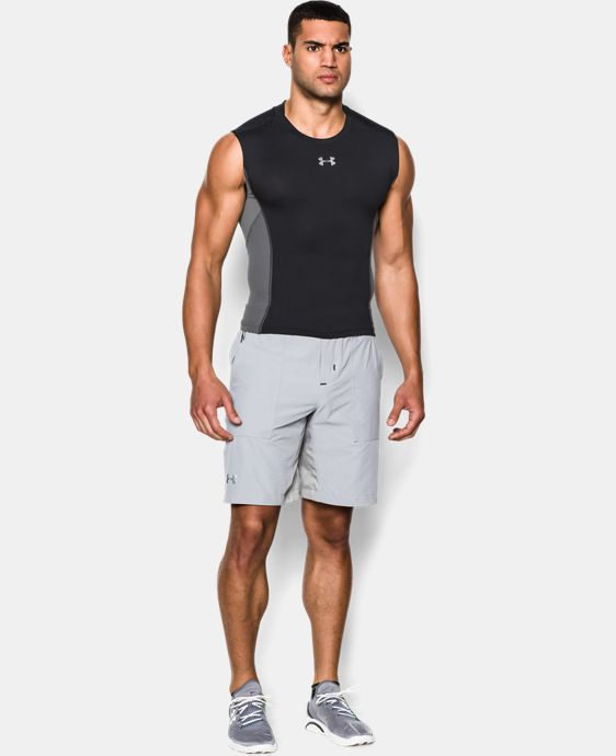 Men's UA HeatGear® Armour® Stretch Sleeveless Compression Shirt  1 Color $25.99