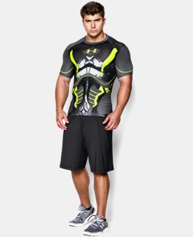 Men's HeatGear® Armour Future Warrior Compression Shirt  1 Color $35.99