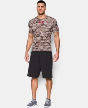 Men's UA Freedom Desert Digi Camo Compression Shirt EXTRA 25% OFF ALREADY INCLUDED 1 Color $29.99
