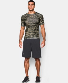Men's UA Freedom Woodland Digi Camo Compression Shirt