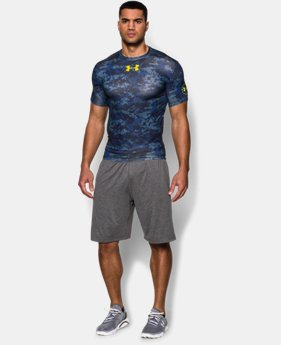 Men's UA Freedom Shipboard Digi Camo Compression Shirt