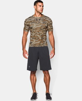 Men's UA Freedom Woodland Camo Compression Shirt