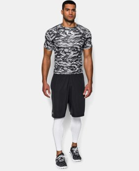 Men's UA Freedom Woodland Stealth Camo Compression Shirt