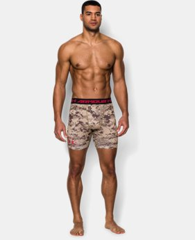 Men's UA Freedom Desert Digi Camo Compression Shorts