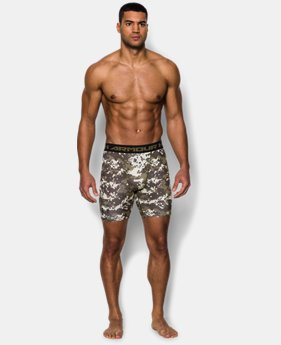 Men's UA Freedom Woodland Digi Camo Compression Shorts