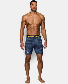 Men's UA Freedom Shipboard Digi Camo Compression Shorts