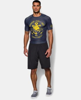 Men's UA Freedom Navy Compression Shirt
