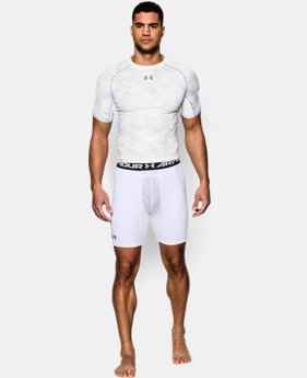 Men's UA HeatGear® Armour Compression Shorts w/ Cup