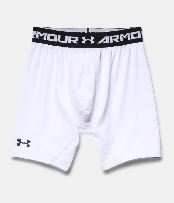 Men S Ua Heatgear 174 Armour Compression Shorts W Cup Pocket