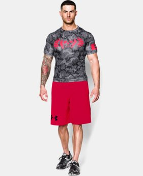 Men's UA Combine® Training Skull Bolt Compression T-Shirt