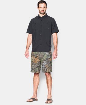 Men's UA Fish Hunter Camo Shorts  1 Color $56.99