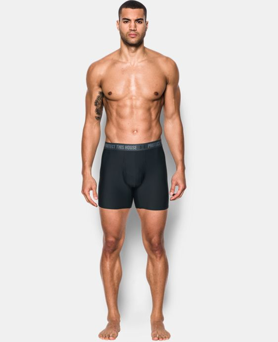"Men's UA Original Series Statement 6"" Boxerjock®  5 Colors $24.99"