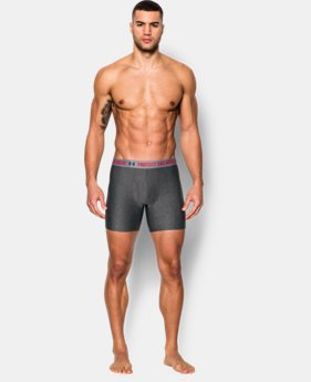 "Men's UA Original Series Statement 6"" Boxerjock® LIMITED TIME: FREE SHIPPING 1 Color $24.99"