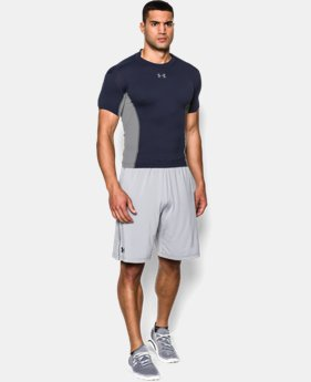 Men's UA HeatGear® Armour® Stretch Short Sleeve Compression Shirt