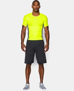 Men's UA HeatGear® Armour® Stretch Short Sleeve Compression Shirt  1 Color $25.99