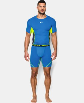 Men's UA HeatGear® Armour® Stretch Compression Shorts