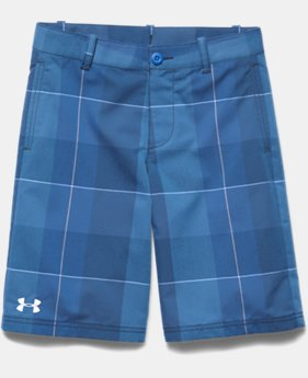 Boys' UA Utility Club Printed Golf Shorts