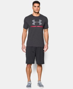 Men's UA Sportstyle Logo T-Shirt  8  Colors $27.99
