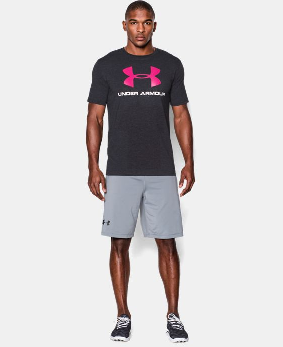 Men's UA Sportstyle Logo T-Shirt LIMITED TIME: FREE U.S. SHIPPING  $24.99