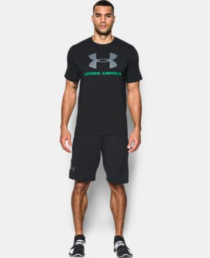 Best Seller  Men's UA Sportstyle Logo T-Shirt  14 Colors $27.99