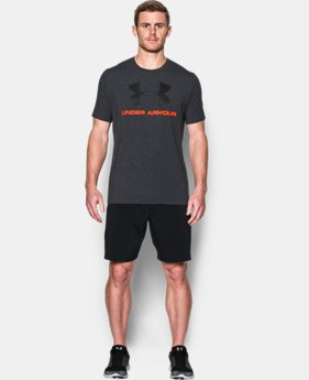 Men's UA Sportstyle Logo T-Shirt  1 Color $17.99