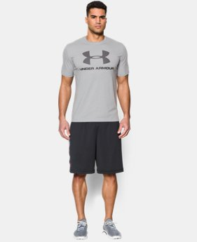 Men's UA Sportstyle Logo T-Shirt  5 Colors $27.99
