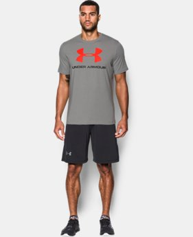 Men's UA Sportstyle Logo T-Shirt LIMITED TIME: FREE U.S. SHIPPING 4 Colors $17.99 to $18.99