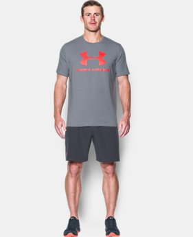 Men's UA Sportstyle Logo T-Shirt  3 Colors $17.49