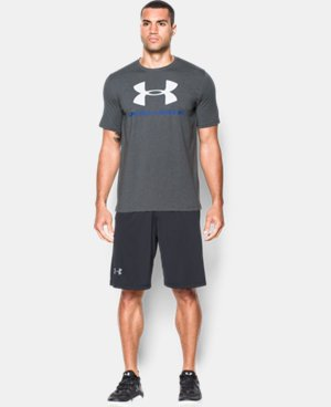 Men's UA Sportstyle Logo T-Shirt LIMITED TIME: FREE U.S. SHIPPING 6 Colors $17.99 to $18.99