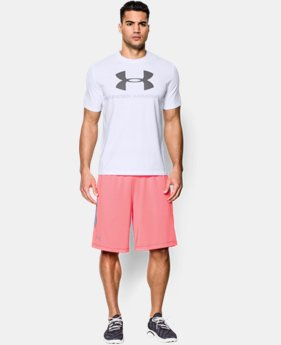 Men's UA Sportstyle Logo T-Shirt  1  Color Available $18.74