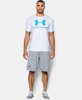 Men's UA Sportstyle Logo T-Shirt LIMITED TIME: FREE U.S. SHIPPING 1 Color $17.99 to $18.99