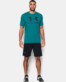 Men's UA Sportstyle Logo T-Shirt  5 Colors $24.99