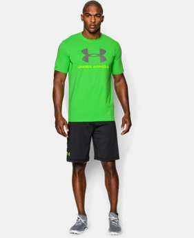 Men's UA Sportstyle Logo T-Shirt LIMITED TIME: FREE U.S. SHIPPING 2 Colors $14.99 to $18.99