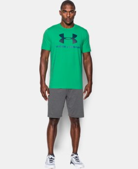 Men's UA Sportstyle Logo T-Shirt LIMITED TIME: FREE SHIPPING 2 Colors $24.99