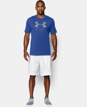 Men's UA Sportstyle Logo T-Shirt  1 Color $14.99 to $18.99