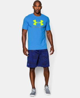Men's UA Sportstyle Logo T-Shirt LIMITED TIME: FREE U.S. SHIPPING 4 Colors $14.99 to $18.99