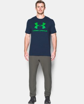 Men's UA Sportstyle Logo T-Shirt  2 Colors $17.49