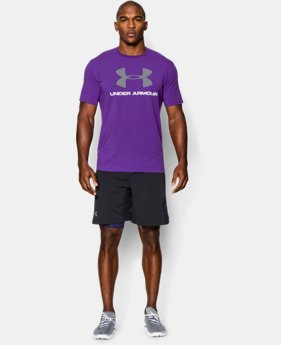 Men's UA Sportstyle Logo T-Shirt  2 Colors $18.99