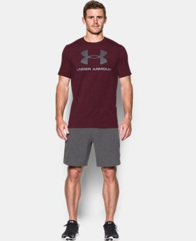 Men's UA Sportstyle Logo T-Shirt  1 Color $18.99 to $24.99
