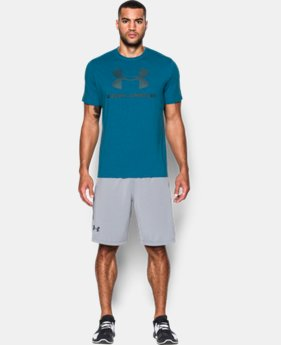 Men's UA Sportstyle Logo T-Shirt LIMITED TIME: FREE SHIPPING  $20.99
