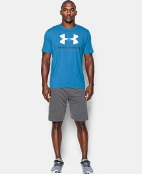 Men's UA Sportstyle Logo T-Shirt LIMITED TIME: FREE SHIPPING 14 Colors $27.99