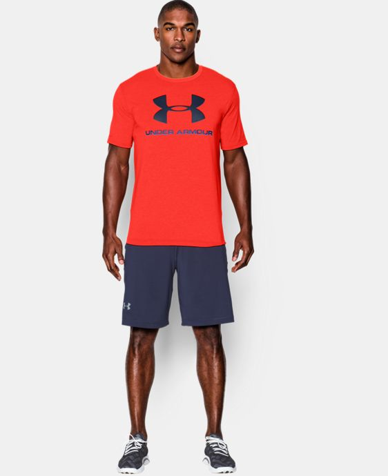 Men's UA Sportstyle Logo T-Shirt LIMITED TIME: FREE U.S. SHIPPING 1 Color $14.99 to $18.99