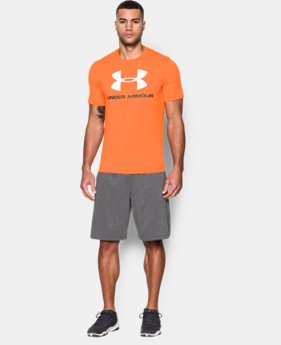 Men's UA Sportstyle Logo T-Shirt  1 Color $24.99