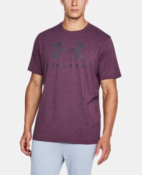 Men's UA Sportstyle Logo T-Shirt  11 Colors $24.99