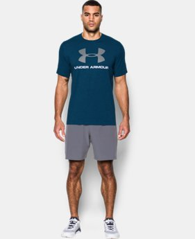 Best Seller  Men's UA Sportstyle Logo T-Shirt  9 Colors $27.99