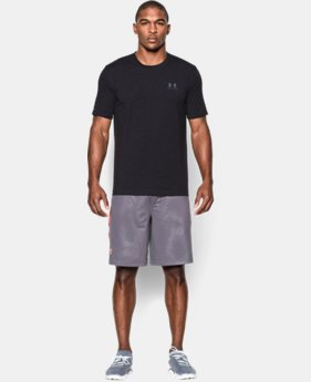 Best Seller Men's UA Charged Cotton® Left Chest Lockup T-Shirt  11 Colors $24.99