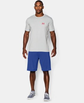 Best Seller Men's UA Charged Cotton® Left Chest Lockup T-Shirt  4 Colors $24.99