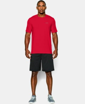 Best Seller  Men's UA Charged Cotton® Left Chest Lockup T-Shirt  1 Color $29.99