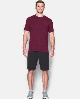 Best Seller  Men's UA Charged Cotton® Left Chest Lockup T-Shirt  2 Colors $29.99